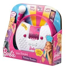 Amazon.com: Barbie Voice Changing Rockstar Boombox: Toys & Games
