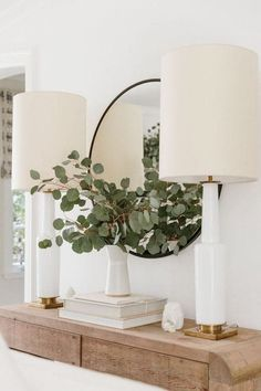 Eucalyptus: The Affordable Plant You Should Be Buying | Eucalyptus has become a fast favorite in the seasonal decor of more modern, minimal homes. It's just festive enough and transitions wonderfully from Halloween all the way through Christmas.