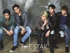 F.T Island pose for 'The Star' before comeback   allkpop.com
