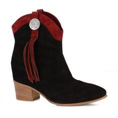 Stivale Donna Fabi F2367 NAPEL NERO/CIPRO 6515 - Fabi  @fabishoes #boots #botas #stivali #countrystyle #summerboots #stivaliestivi #shoes #black #ankleboots