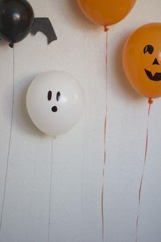 DIY Halloween Balloons + 13 Halloween Treats | Thoughtfully Simple