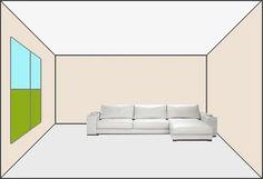 Cuatro maneras de pintar un ambiente : el clásico techo blanco PintoMiCasa.com