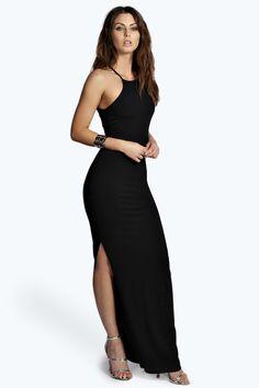 Lizzie Ribbed Maxi Dress alternative image