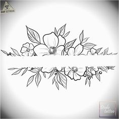 200 Fotos de tatuagens femininas no braço para se inspirar - Fotos e Tatuagens - Flower Tattoo Designs - Ein neues Design sucht den Besitzer zu einem Sonderpreis # Tätowierung - Tattoo Drawings, Body Art Tattoos, Small Tattoos, Sleeve Tattoos, Flower Tattoo Designs, Flower Tattoos, Bracelete Tattoo, Neue Tattoos, Mandala Tattoo