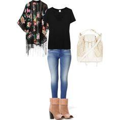 jessica alba mint fringe kimono   Casual Style with Fringed Kimono.  NEED THIS BOOTS!!!