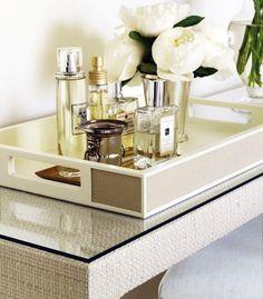 flower // perfume tray