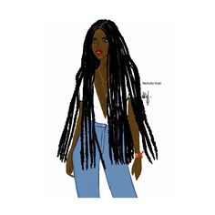 fashion illustration by Nicholle Kobi Black Love Art, Black Girl Art, My Black Is Beautiful, Black Girl Magic, Art Girl, African Men Fashion, Black Women Fashion, 4c Hair, African American Art