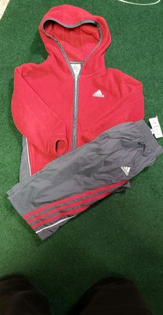 Clothing, Shoes & Accessories Baby & Toddler Clothing B2 Adidas Track Jacket Girls 4t Purple Yellow Euc
