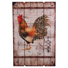 Add a homespun touch to your home d�cor with this country-chic design.     Product: Wall artConstruction Material: