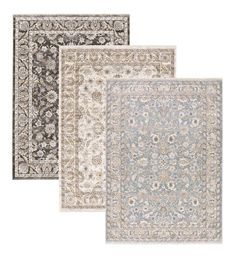 """This Wakefield Border rug offers a traditional design in neutral and muted tones that work well with any décor style or color scheme. Rugs are power loomed of incredibly soft, space-dyed polyester with a generous 1"""" pile for softness. The crisp border design beautifully designs your spaces, from living room to dining room and more. Rug pad recommended. Sizes are approximate, and patterns will vary slightly by size. Imported."""