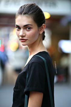 MODELS JAM: Antonina Vasylchenko after Oscar De La Renta, New York, September 2013