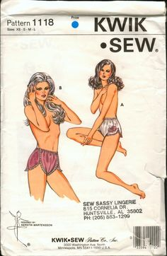 d8276f73c0d6 341 Best Knickers images in 2019 | Lingerie patterns, Patterns, Sewing