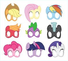 Little pony masks photo booth props Magical unicorn backdrop My pony Printable birthday party mask My Little Pony Party, Cumple My Little Pony, My Lil Pony, Unicorn Birthday Parties, Unicorn Party, Frozen Birthday Party, Frozen Party, Rainbow Dash, My Little Pony Printable