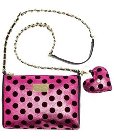 Betsey Johnson Holiday Crossbody - Handbags & Accessories - Macy's