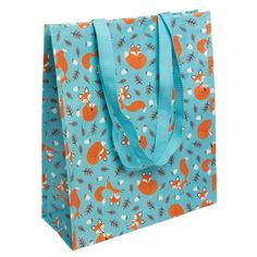 From 2.95:Reusable Eco-friendly Shopper Bag - Choice Of Design ( Rusty The Fox )