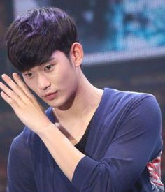 Cute..❤ #Kim Soo Hyun