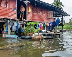 A home in one of the khlongs (canals) near Bangkok by James Seith Photography on Flickr