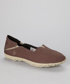 Take a look at this Chocolate Hellyer Slip-On Sneaker - Women by Cushe on #zulily today!