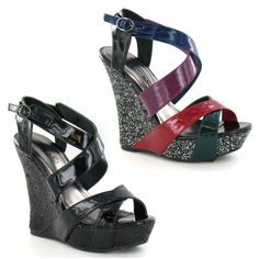 Wholesale Ladies Wedge Sandals 14 Pairs Sizes 3-8  F1918