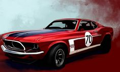 Ford Mustang Boss 302 Car HD desktop wallpaper, Ford wallpaper, Ford Mustang Boss wallpaper - Cars no. Ford Mustang Boss, New Ford Mustang, Shelby Mustang, Red Mustang, Mustang Fastback, Vintage Ski, Vintage Cars, Ford Mustangs, Red Sports Car