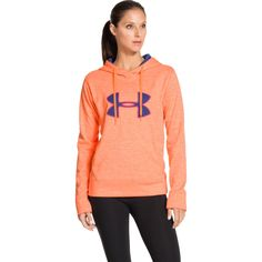 Under Armour Women's Big Logo Applique Twist Printed Hoodie | DICK'S Sporting Goods