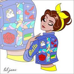 """Jackets"" ✨✨✨ Jasmine ( will be making this series) Cute Disney, Disney Dream, Baby Disney, Disney Princess Art, Disney Fan Art, Flame Princess, Disney Nerd, Princess Aurora, Princess Illustration"