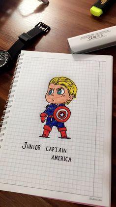 Junior captain america