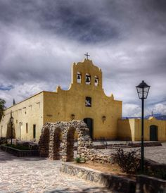 colonial architecture cachi argentina | Flickr - Photo Sharing! Spanish Architecture, Colonial Architecture, Latin America, South America, Wonderful Places, Beautiful Places, Church Building, Spanish Colonial, Central America