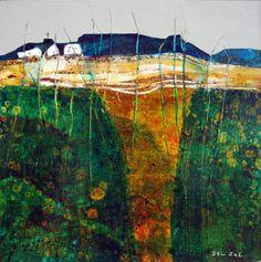 SUMMER FIELDS, Contemporary Landscape by Cristina Del Sol