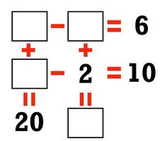Can you solve for the missing numbers?? MORE Puzzles (and SOLUTIONS): http://mes.fm/puzzles