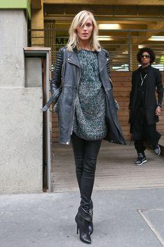 Paris Fashion Week, Model Street Style