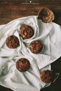 Buckwheat Muffins with Apple, Banana and Avocado | What Should I Eat For Breakfast?