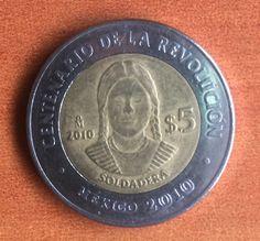 Adelita, moneda de México