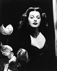 Hedy Lamarr. Actress, engineer, and mistress of the half-closed-eyes-and-pout expression...