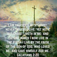 Galatians 2:20 (KJV)