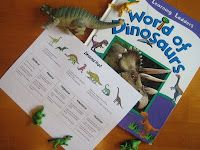 Relentlessly Fun, Deceptively Educational: Dinosaur Hunt..  Now this is learning at its best.. lol