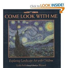 This is one in a series of books to teach children art appreciation.  It shows the paintings, give you the artists' names and details of the painting then, gives you questions to ask your students.  It's the best I've come across!