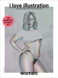 iloveillustration magazine, illustration, magazine, art, artists, contemporary…