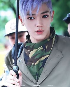 Taeyong's purple hair And I really like his hairstyle, so dope He looks so cool in this pict tbh . © switch on #nct #nctu #nct127 #nctdream #taeyong #leetaeyong #taeyongnct #rapper #bestrapper #dancer #leader #idol #model #songwriter #composer #kingofcleaning #talented #slay #swag #cool #handsome #livinganime #kpop
