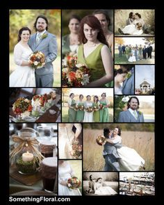 Rustic and vintage wedding inspiration. Barn wedding in Illinois. Flowers by Something Floral / Something Spectacular, Warren, MI. Photos by David Grelck.
