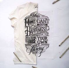 Expand your design skills by venturing into the world of hand lettering design. Types Of Lettering, Brush Lettering, Lettering Design, Creative Lettering, Typography Quotes, Typography Letters, Typography Served, Calligraphy Fonts, Typographie Inspiration