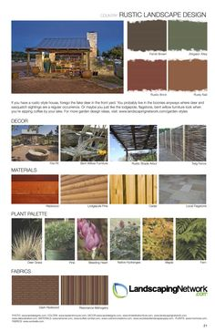 rustic style sheet