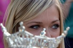 This close-up photo of Elizabeth Wertenberger's crown was taken when she was Miss Monroe County 2008. Photo from The Monroe Evening News / Road to the Crown blog.