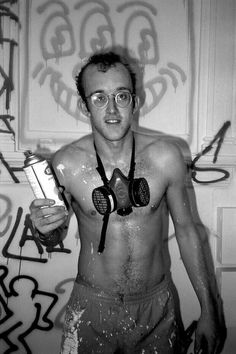 Keith Harring by Patrick Mcmullan