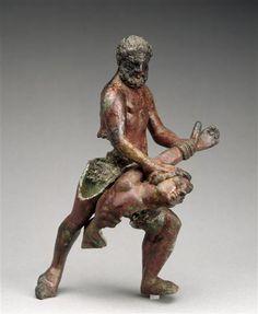 | Hercules slaying the giant Antaeus (?) | Images of Art