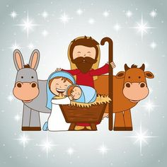 Teach kids the Christmas story with these lessons. These Meet Baby Jesus Preschool Church Curriculum lessons are perfect for Sunday School or Children's Church. Preschool Christmas, Christmas Activities, Christmas Crafts, Preschool Bible Lessons, Preschool Art Activities, A Christmas Story, Christmas Design, Childrens Ministry Deals, Sunday School Crafts