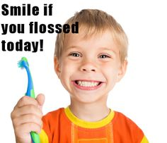 tips to get kids to floss! #kids #health