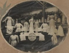 Costume display inside Lennons Drapers, Townsville, North Queensland, 1913 / John Oxley Library, State Library of Queensland, Neg: 10152-0001-0005 http://hdl.handle.net/10462/deriv/194970   thefashionarchives.org