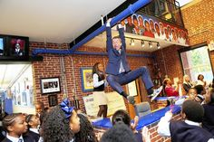 "Ron Clark Academy, Atlanta ""Do not go where the path may lead, go instead where there is no path and leave a trail"" -Ralph Waldo Emerson After School, School Days, Ron Clark, Enrichment Programs, Hallway Ideas, Emerson, Choices, Atlanta, Trail"