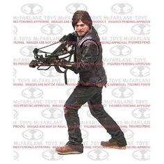 Walking Dead Daryl Dixon 10-Inch Deluxe Action Figure Pre-Order www.thedealsshops.com
